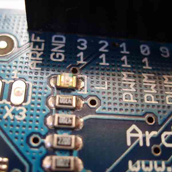Motherboard of arduino